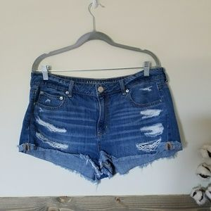 American Eagle Tomgirl Shorts size 14